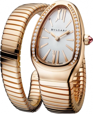 Buy this new Bulgari Serpenti Tubogas 35mm 103003 ladies watch for the discount price of £23,056.00. UK Retailer.