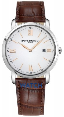 Buy this new Baume & Mercier Classima Quartz 42mm 10380 mens watch for the discount price of £697.00. UK Retailer.