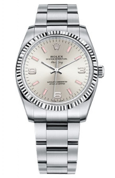 Rolex Air King Mens watch, model number - 114234 Silver Dial, discount price of £4,100.00 from The Watch Source