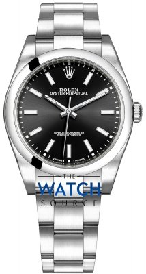 Rolex Oyster Perpetual 39mm 114300 Black Oyster watch