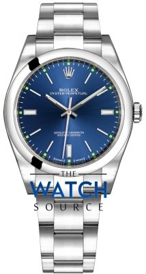 Rolex Oyster Perpetual 39mm 114300 Blue Oyster watch
