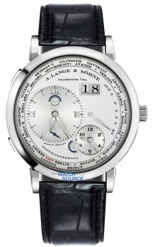 A. Lange & Sohne Lange 1 Time Zone 41.9mm Mens watch, model number - 116.039, discount price of £31,050.00 from The Watch Source