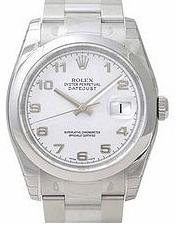 Rolex Datejust Mens watch, model number - 116200 White Dial, discount price of £4,500.00 from The Watch Source