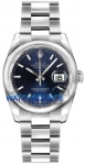Rolex Datejust 36mm Stainless Steel 116200 Blue Index Oyster watch