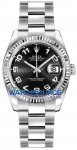 Rolex Datejust 36mm Stainless Steel 116234 Black Concentric Arabic Oyster watch