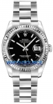 Rolex Datejust 36mm Stainless Steel 116234 Black Index Oyster watch