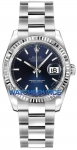 Rolex Datejust 36mm Stainless Steel 116234 Blue Index Oyster watch