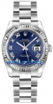 Rolex Datejust 36mm Stainless Steel 116234 Blue Roman Oyster watch