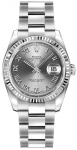Rolex Datejust 36mm Stainless Steel 116234 Rhodium Roman Oyster watch