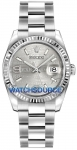 Rolex Datejust 36mm Stainless Steel 116234 Rhodium Wave Oyster watch