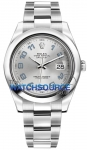 Rolex Oyster Perpetual Datejust II 116300 Rhodium Arabic watch