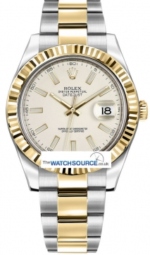 Rolex Oyster Perpetual Datejust II Mens watch, model number - 116333 Ivory Index, discount price of £8,530.00 from The Watch Source