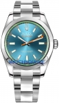 Rolex Milgauss 40mm 116400gv Blue watch