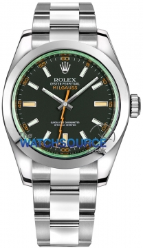 Rolex Milgauss 40mm 116400gv Black watch