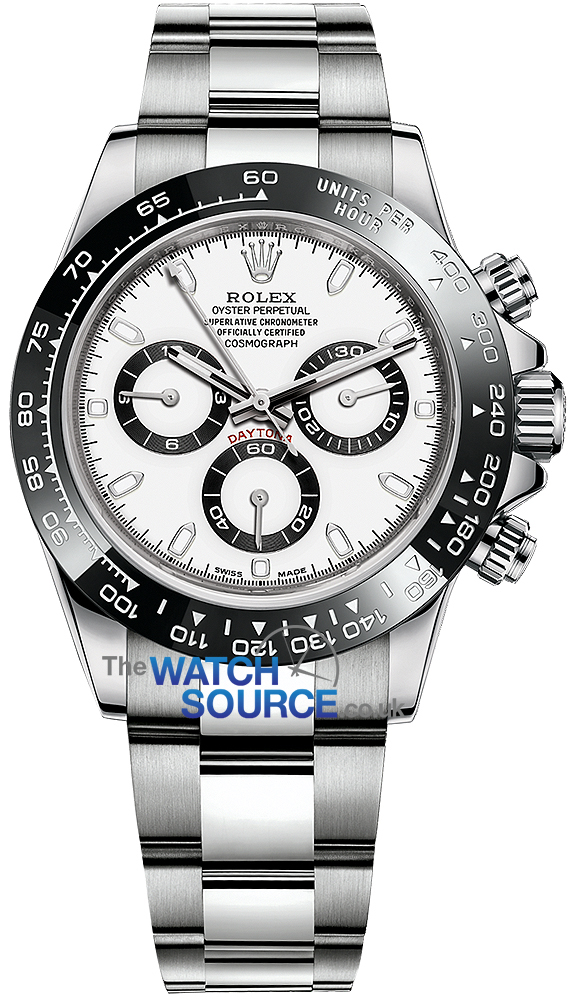 Buy This New Rolex Cosmograph Daytona Stainless Steel 116500ln