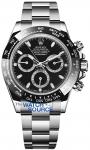 Rolex Cosmograph Daytona Stainless Steel 116500LN Black watch