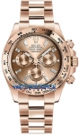 Rolex Cosmograph Daytona Everose Gold 116505 Pink Baguette Index watch