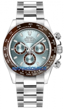Rolex Cosmograph Daytona Platinum 116506 Ice Blue Index watch