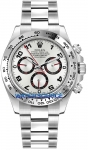 Rolex Cosmograph Daytona White Gold 116509 Silver Arabic watch