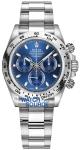 Rolex Cosmograph Daytona White Gold 116509 Blue Index Oyster watch