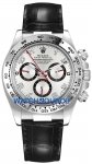 Rolex Cosmograph Daytona White Gold 116519 White and Black Arabic watch