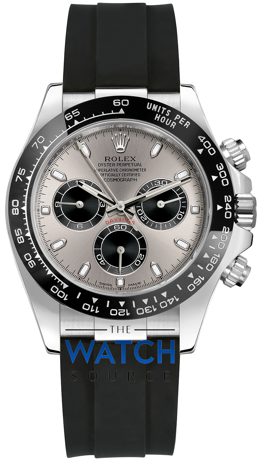 c0ae3c776af Buy this new Rolex Cosmograph Daytona White Gold 116519LN Steel ...