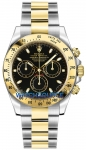Rolex Cosmograph Daytona Steel and Gold 116523 Black Index watch