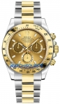 Rolex Cosmograph Daytona Steel and Gold 116523 Champagne Index watch