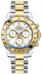 Rolex Cosmograph Daytona Steel and Gold 116523 White Index watch