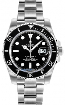 Rolex Oyster Perpetual Submariner Date Mens watch, model number - 116610LN, discount price of £6,900.00 from The Watch Source
