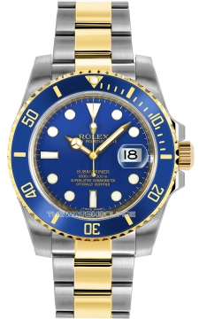 Rolex Oyster Perpetual Submariner Date Mens watch, model number - 116613LB, discount price of £9,850.00 from The Watch Source