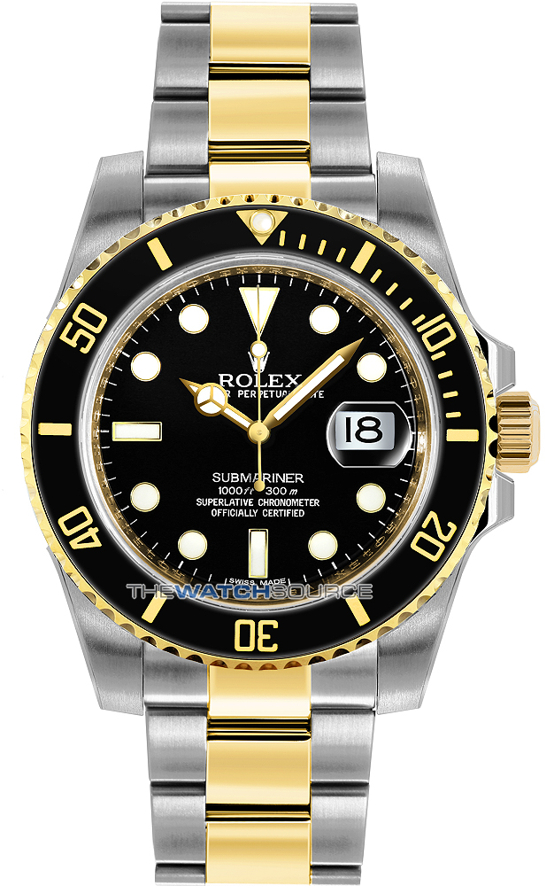 1611e188a2f69 Buy this new Rolex Oyster Perpetual Submariner Date 116613 LN mens ...