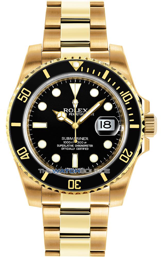 Rolex 0 Finance >> 116618 LN Black - Oyster Perpetual Submariner Date - Rolex