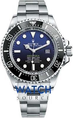 Rolex Deepsea 116660 D-Blue watch