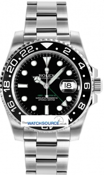 Rolex GMT Master II Mens watch, model number - 116710LN, discount price of £6,160.00 from The Watch Source