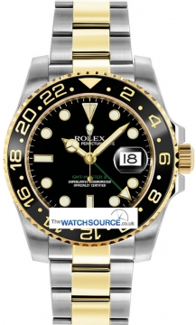 Rolex GMT Master II Mens watch, model number - 116713LN, discount price of £9,520.00 from The Watch Source