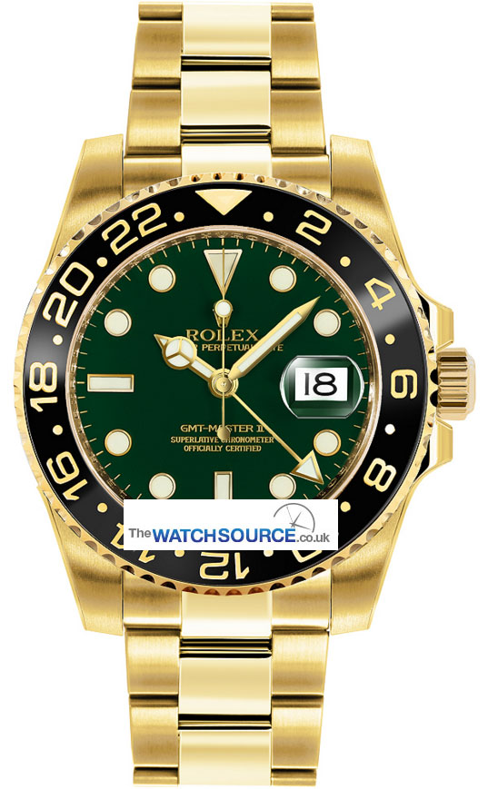 Rolex Gmt Master Ii 116718ln Green