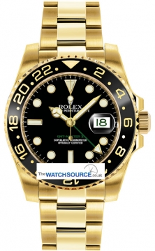Rolex GMT Master II Mens watch, model number - 116718LN, discount price of £24,420.00 from The Watch Source