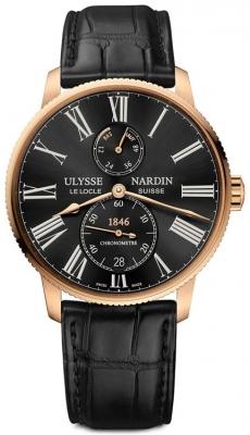 Ulysse Nardin Marine Chronometer Torpilleur 42mm 1182-310/42 watch