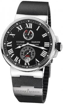 Ulysse Nardin Marine Chronometer Manufacture 45mm 1183-122-3/42 v2 watch