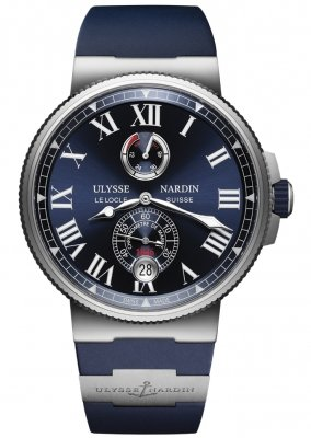 Ulysse Nardin Marine Chronometer Manufacture 45mm 1183-122-3/43 watch