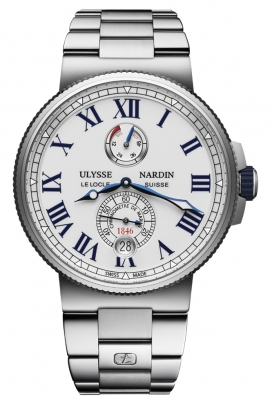 Ulysse Nardin Marine Chronometer Manufacture 45mm 1183-122-7m/40 watch