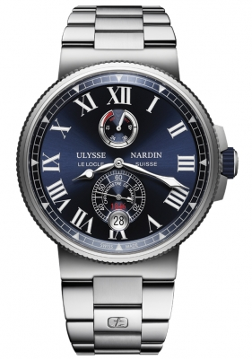 Ulysse Nardin Marine Chronometer Manufacture 45mm 1183-122-7m/43 watch