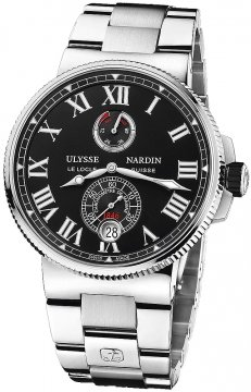 Ulysse Nardin Marine Chronometer Manufacture 45mm 1183-122-7m/42 v2 watch