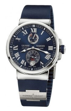 Ulysse Nardin Marine Chronometer Manufacture 43mm Mens watch, model number - 1183-126-3/43, discount price of £6,481.00 from The Watch Source