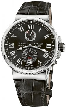 Buy this new Ulysse Nardin Marine Chronometer Manufacture 43mm 1183-126/42 mens watch for the discount price of £7,623.00. UK Retailer.