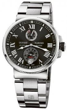 Ulysse Nardin Marine Chronometer Manufacture 43mm 1183-126-7m/42 watch