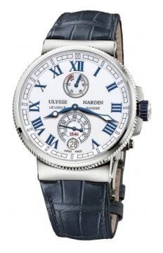 Ulysse Nardin Marine Chronometer Manufacture 43mm Mens watch, model number - 1183-126/40, discount price of £5,775.00 from The Watch Source