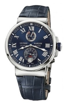 Ulysse Nardin Marine Chronometer Manufacture 43mm Mens watch, model number - 1183-126/43, discount price of £6,545.00 from The Watch Source