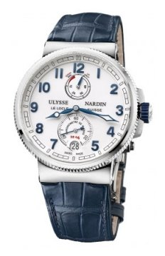 Ulysse Nardin Marine Chronometer Manufacture 43mm Mens watch, model number - 1183-126/60, discount price of £6,545.00 from The Watch Source